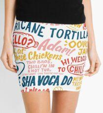 Vine app art  Mini Skirt