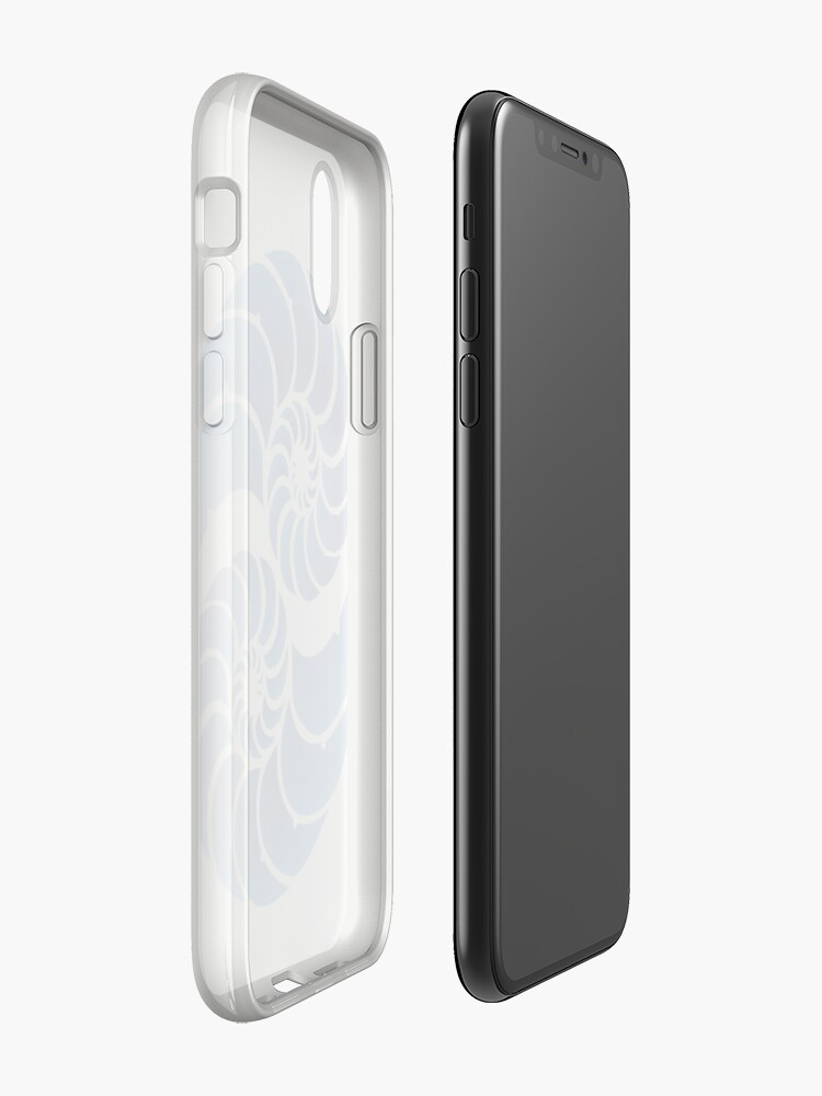 Alternate view of Twin Nautilus Shells iPhone Cases & Covers