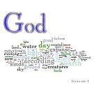 Genesis 1 by Wordigrams
