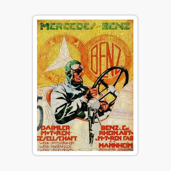 German vintage Auto ad 1926 Sticker