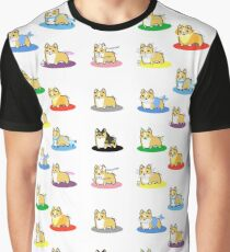 All Corgi Pokemon Eevee Cosplays Graphic T-Shirt