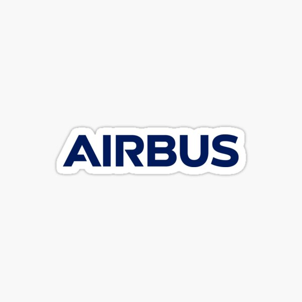 Airbus Logo (new, current as of 2017) Sticker