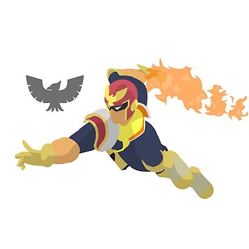 Captain Falcon - 11 Minimalist by Alseias