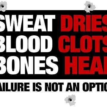Sweat Dries, Blood Clots, Bones Heal by rott515