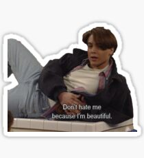 boy meets world - don't hate me because i'm beautiful Sticker