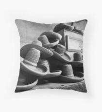 Sombreros Throw Pillow