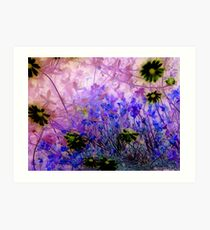 Life in the undergrowth Art Print
