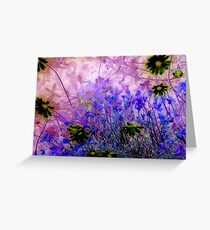 Life in the undergrowth Greeting Card
