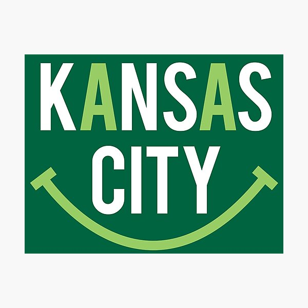 Kansas City Smile (Irish) Photographic Print