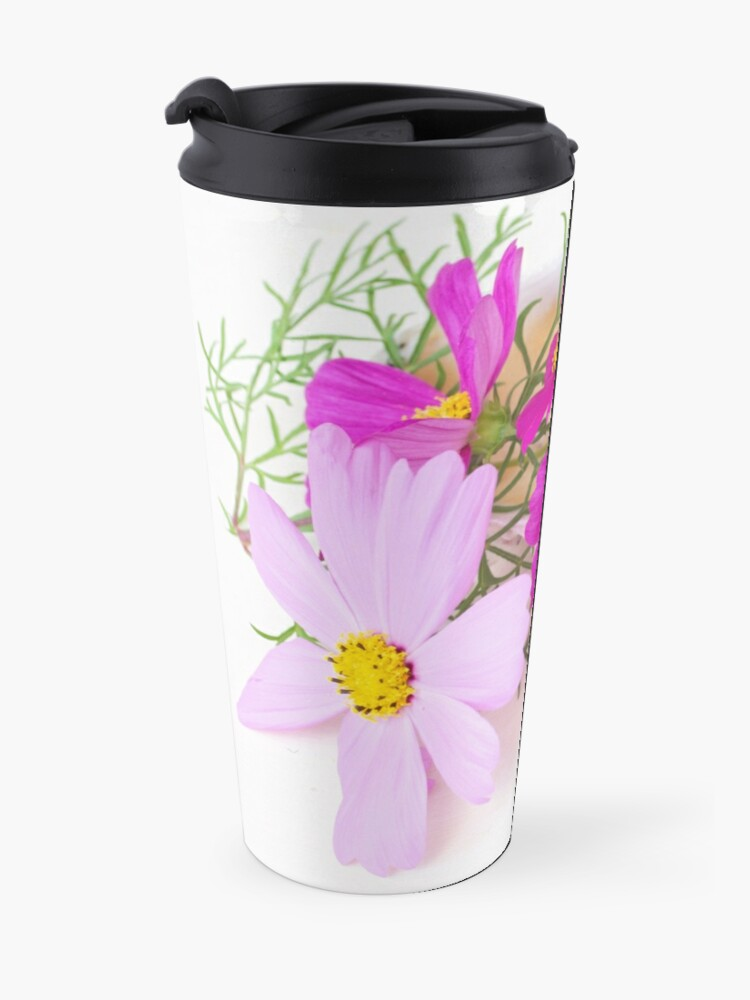 Alternate view of Cosmos in a Shell Travel Mug