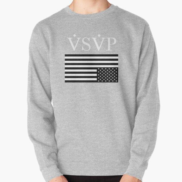 Bandera de VSVP - Blanco [A $ AP] Sudadera sin capucha