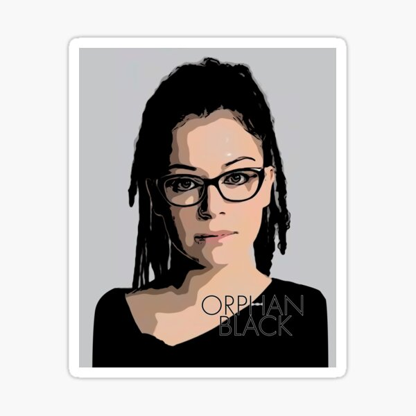 Cosima Niehaus - with Orphan Black Logo Sticker