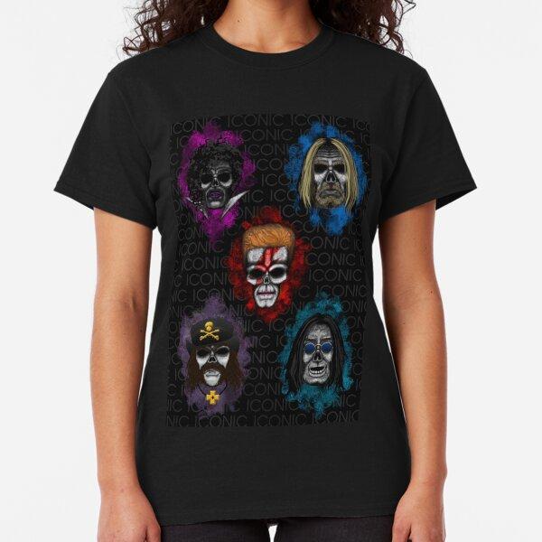 Errorface skull Icons  Classic T-Shirt