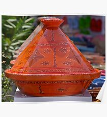 Colourful pots for sale Poster