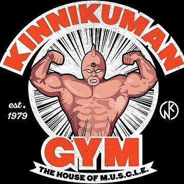 Kinnikuman Gym by pufahl