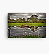Green Country Canvas Print