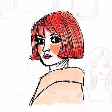 Pink Bardot by m-oonriver