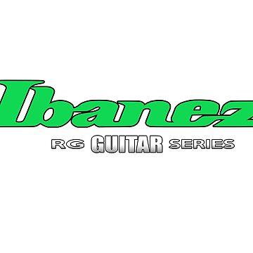 """Ibanez Guitar RG Green """"Edition"""" by mugenjyaj"""