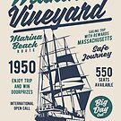 Martha's Vineyard Cape Cod Massachusetts Sailing Ship by scooterbaby