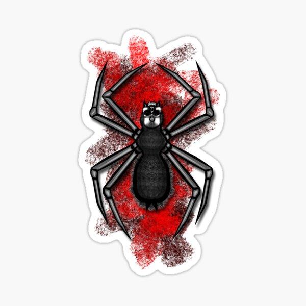 Errorface Skull Spider Sticker