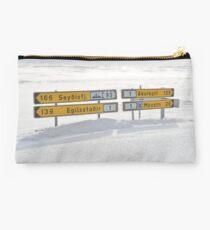 Akureyri Road Sign Studio Pouch