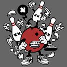 Bowling Dude League Champion by scooterbaby
