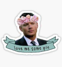 Pegatina Dean ama la tarta