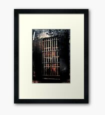 The Cold Chill Of Time Framed Print