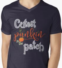 Cutest Punkin in the Patch  Men's V-Neck T-Shirt