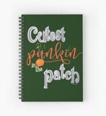 Cutest Punkin in the Patch  Spiral Notebook