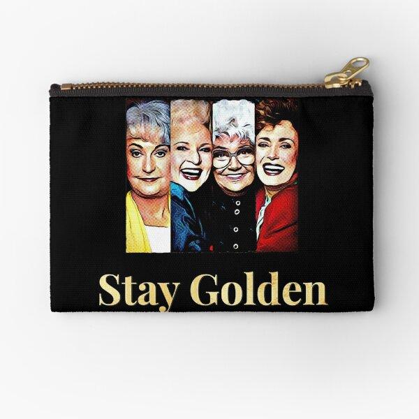Stay Golden Zipper Pouch