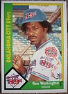 423 - Ron Washington by Foob's Baseball Cards