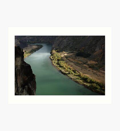 Snake River Canyon Art Print