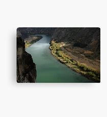 Snake River Canyon Canvas Print
