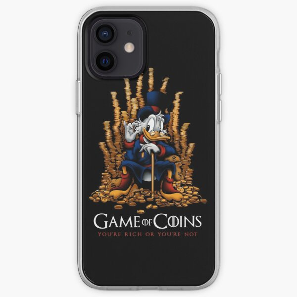 Game of Coins iPhone Soft Case