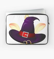 Cute Little Unicorn Witch  Laptop Sleeve