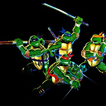 tmnt colored bandanas  by wil2liam4