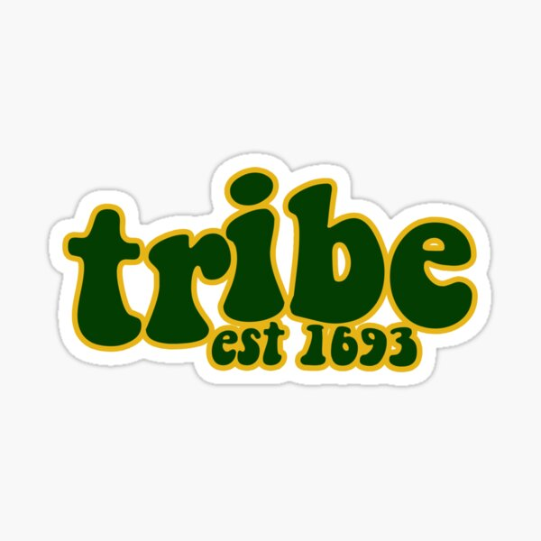 Tribe William and Mary Groovy Sticker Sticker