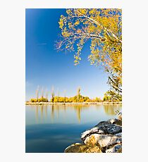 Lake Burley Griffin Canberra Photographic Print