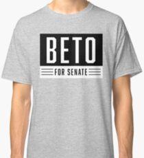 BETO FOR U.S. SENATE - WHITE ON BLACK Classic T-Shirt