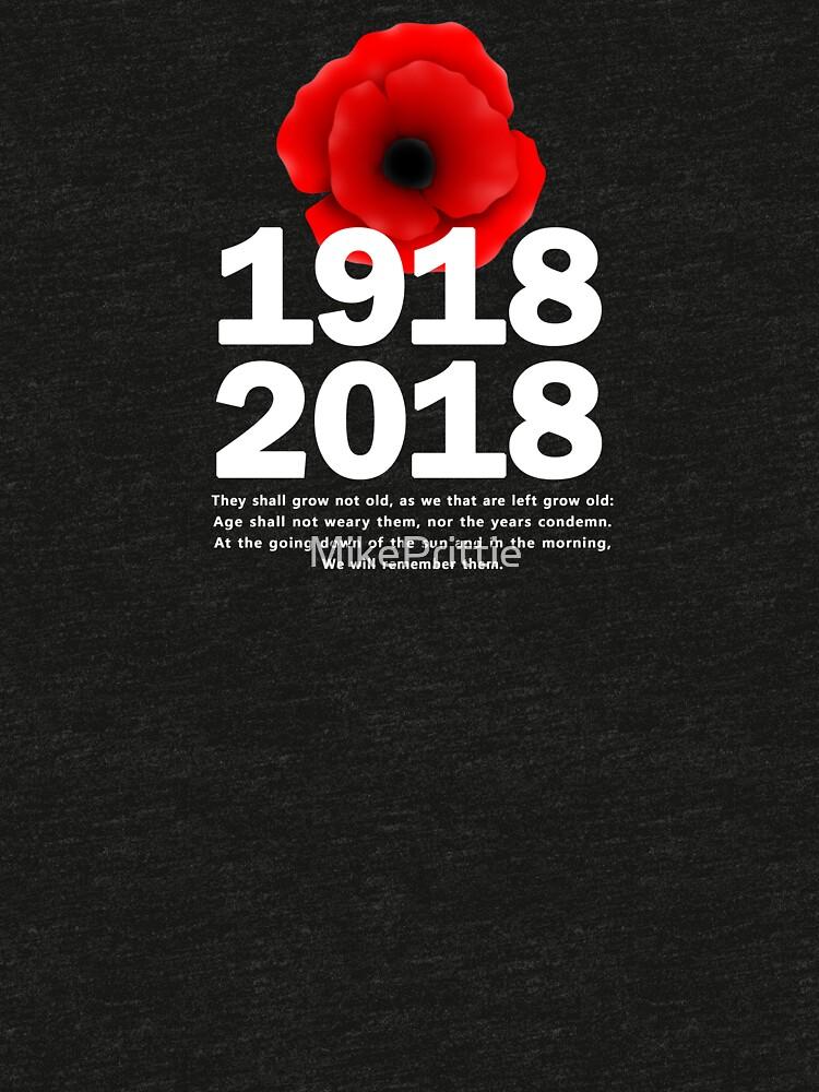 World War 1 Centennial by MikePrittie