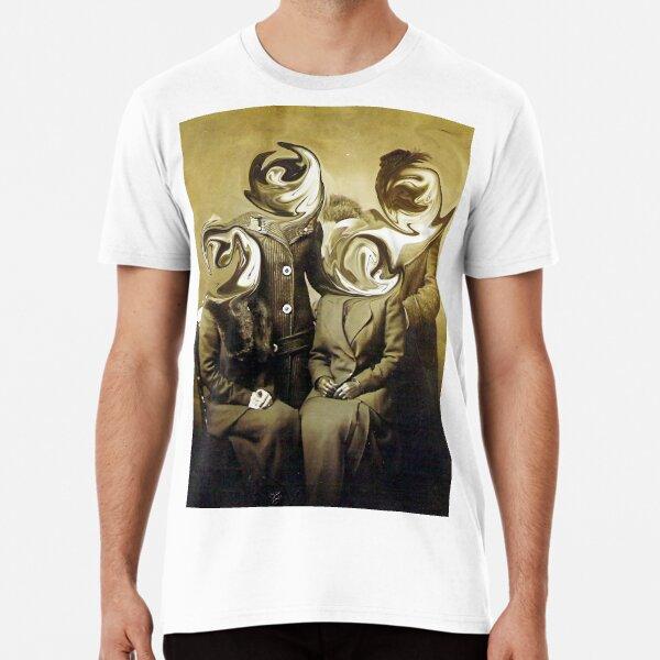 Glitched Faces Premium T-Shirt