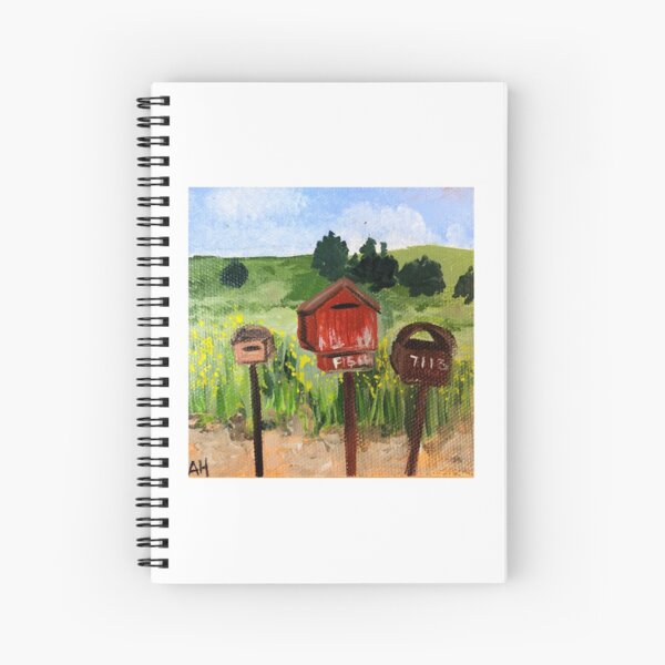 Letterboxes Spiral Notebook