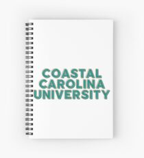 Coastal Carolina University - Style 10 Spiral Notebook
