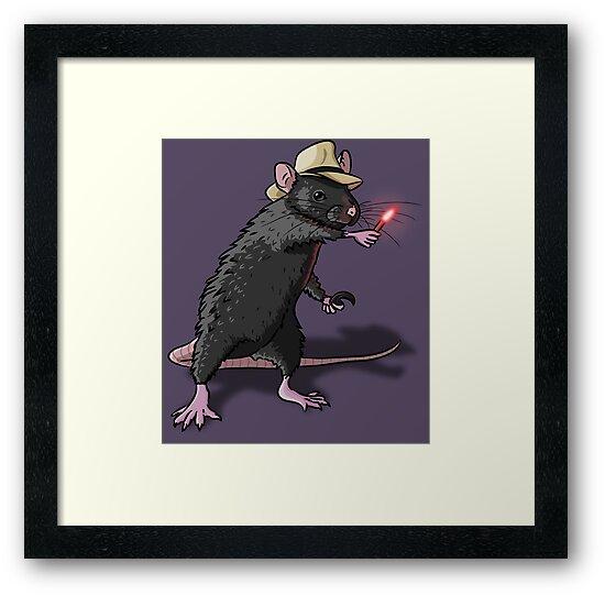 Dr. Alan Grant Rat by Wootus