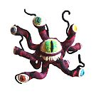 Dungeons and Dragons Beholder - (Needle Felt Art) by TheJoanofArt