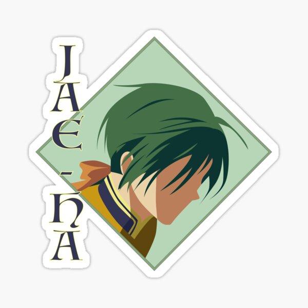 Jae-Ha - Yona of the Dawn Art Sticker