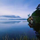 Misty Ullswater Boathouse - Cumbria by David Lewins