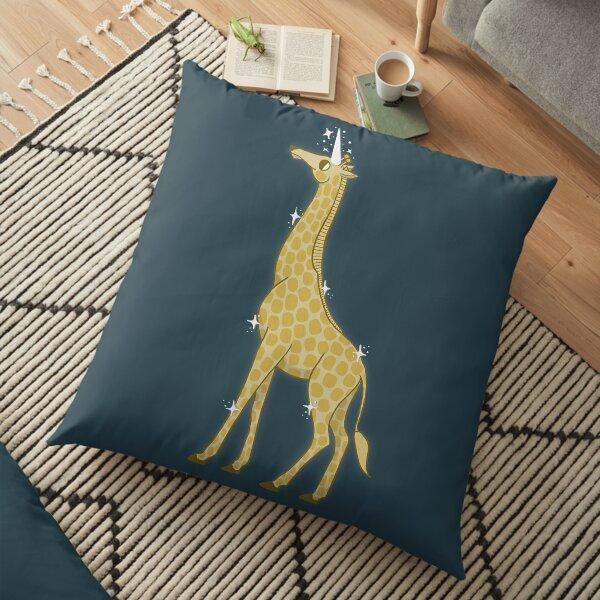 Giraffe-a-corn Floor Pillow