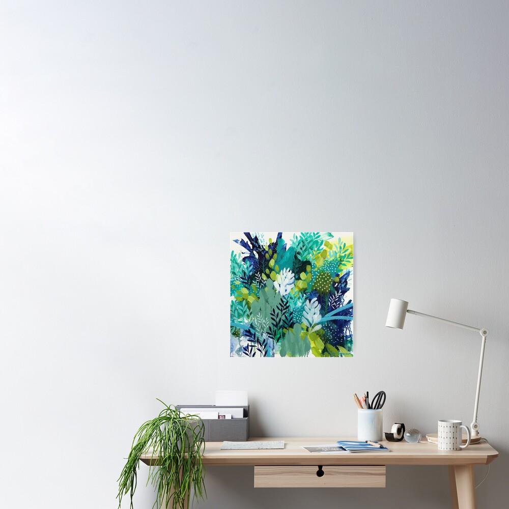 Abundant Foliage by Clair Bremner Poster